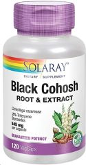 Solaray Black Cohosh 120 cápsulas