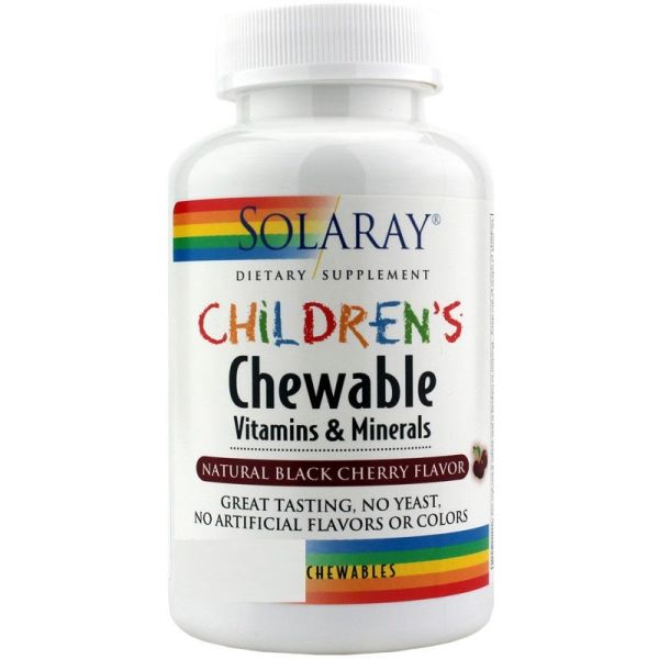 SOLARAY CHILDREN CHEWABLE 60 COMPRIMIDOS MASTICABLES
