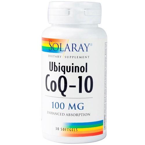 SOLARAY COQ-10 UBIQUINOL 100 mg 30 perlas