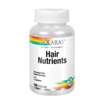 SOLARAY HAIR NUTRIENTS 120 CAPSULAS