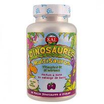 Solaray Kal Multisaurus Complejo Vitamínico 60 comprimidos