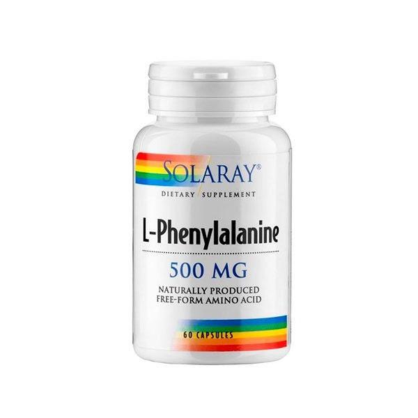 Solaray L-Fenilanina 500mg 60 capsulas