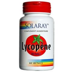 Solaray Licopene 10mg 60 perlas