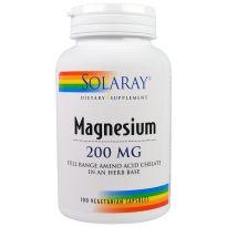 Solaray Magnesio 90 cápsulas