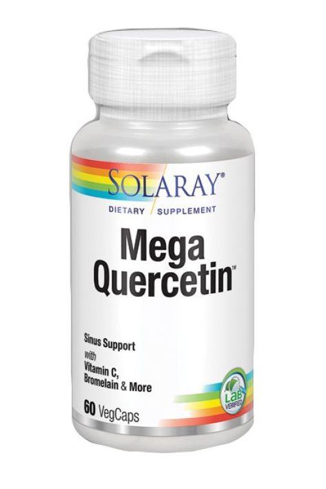 Solaray Mega Quercitin 600mg 60 cápsulas