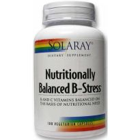 SOLARAY NUTRITIONALLY BALANCED B STRESS 100 CAPSULAS