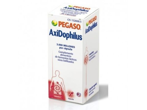 Solaray Pegaso Axidophilus 30 cápsulas