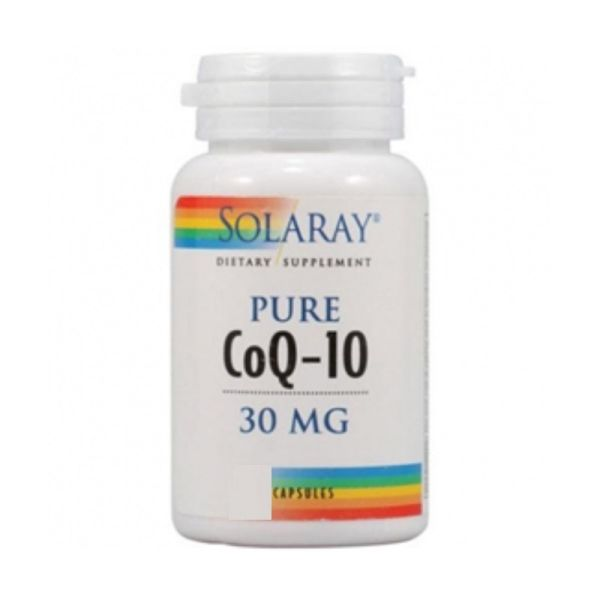 SOLARAY PURE COQ 10 30 MG 30 CAPSULAS