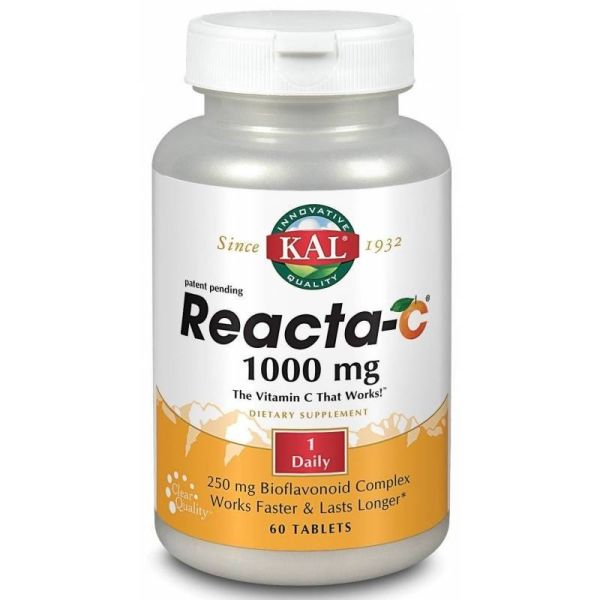 Solaray Reacta-C 1000mg 60 comprimidos