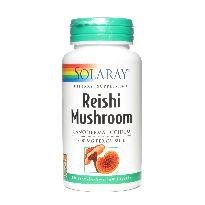 SOLARAY REISHI MUSHROOM 600MG 100 CAPSULAS
