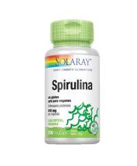 SOLARAY SPIRULINA 410MG 100 CAPSULAS
