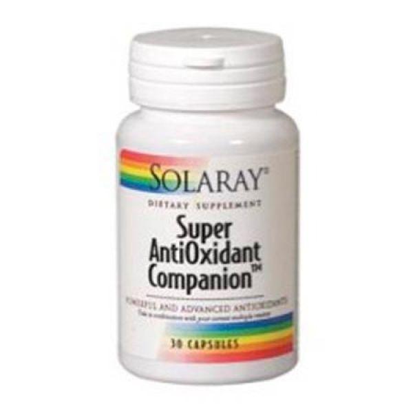 SOLARAY SUPER ANTIOXIDANT 30 CAPSULAS