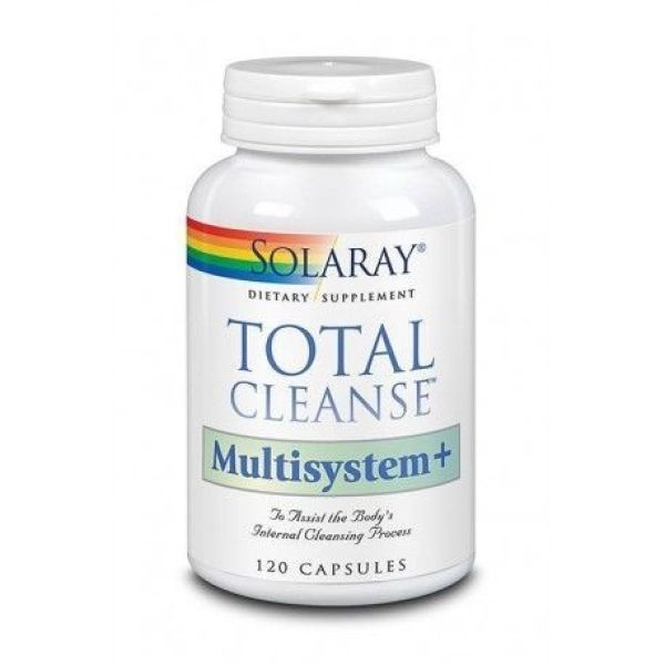 Solaray Total Cleanse Multisystem 120 cápsulas