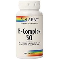 Solaray Vitamina B Complex 50 50 cápsulas