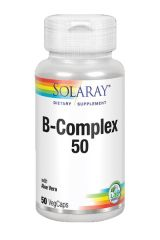 SOLARAY VITAMINA B COMPLEX 50 DE 50 CAPSULAS