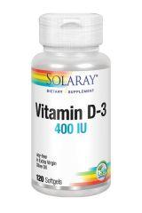 Solaray Vitamina D-3 120 perlas