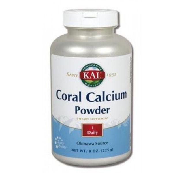 SOLARAY CORAL CALCIUM POWDER 225GR