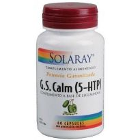 SOLARAY G S CALM 60 CAPSULAS