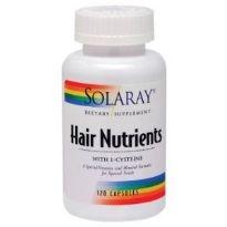 SOLARAY HAIR NUTRIENTS 120 CAPSULAS