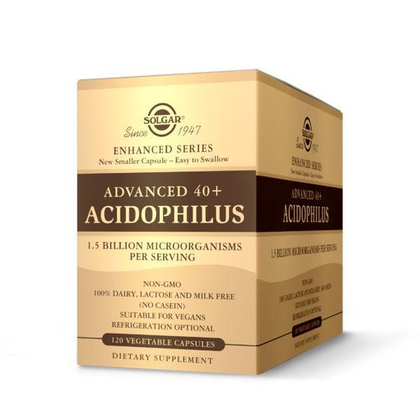 SOLGAR AVANZADO 40 ACIDOPHILUS PLUS 120 CAPSULAS