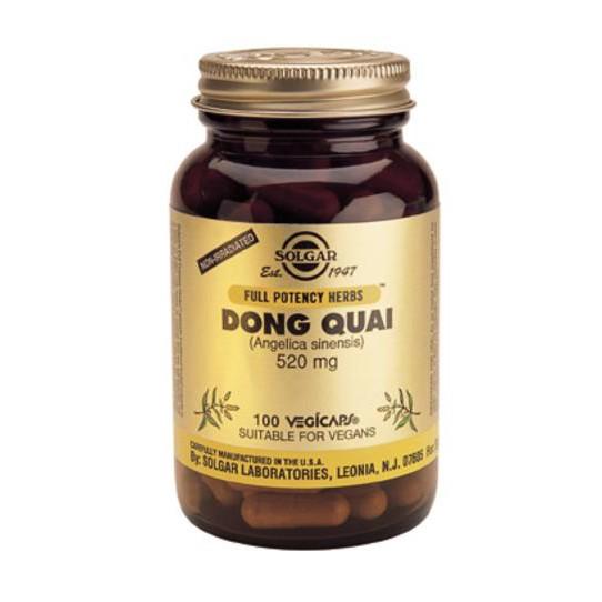 SOLGAR DONG QUAI 100 CAPS