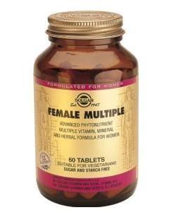 SOLGAR FEMALE MULTIPLE 60 COMP