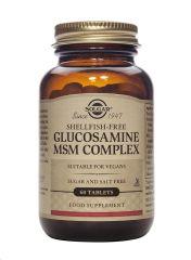 SOLGAR GLUCOSAMINE MSM COMPLEX 60 TABLETAS