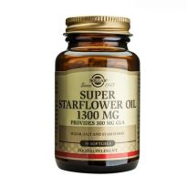SOLGAR SUPER STARFLOWER GLA 1300MG 30 CAPSULAS