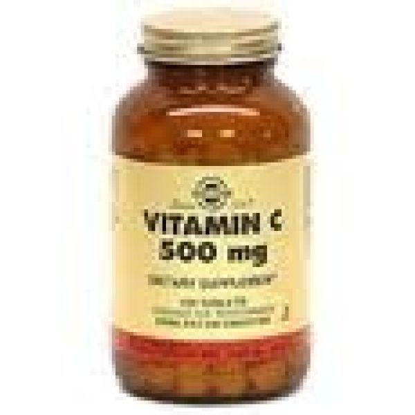 SOLGAR VITAMINA C 500MG 100 CAPS