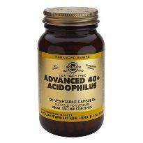 SOLGAR 40 ACIDOPHILUS 60 CAPSULAS