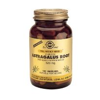 SOLGAR ASTRAGALUS ROOT 520MG 100 CAPS.