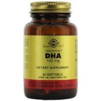 SOLGAR DHA 100MG 30 CAPS.