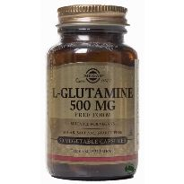SOLGAR L-GLUTAMINA 500MG 50 CAPS