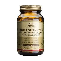 SOLGAR NEURO NUTRIENTES 60 CAPS