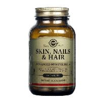 SOLGAR SKIN NAILS AND HAIR 60 CAPSULAS