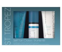 ST TROPEZ KIT MOUSSE BRONCEADOR 50 ML E HIDRATANTE 75ML Y EXFOLIANTE 75ML