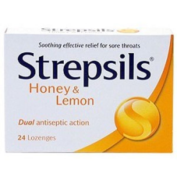 STREPSILS MIEL Y LIMON 24 PASTILLAS