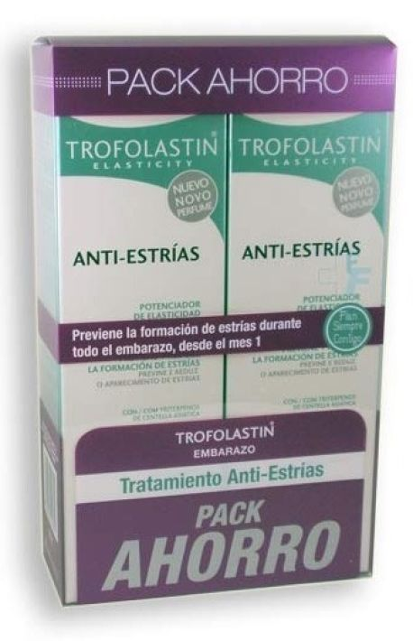TROFOLASTIN ANTI ESTRIAS 250ML X 2 UNIDADES