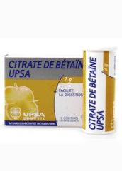 UPSA CITRATE BETAINE EFERV. 20 CPR