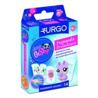 URGO APOSITOS PROTECTORES INFANTILES PET SHOP 14 UD