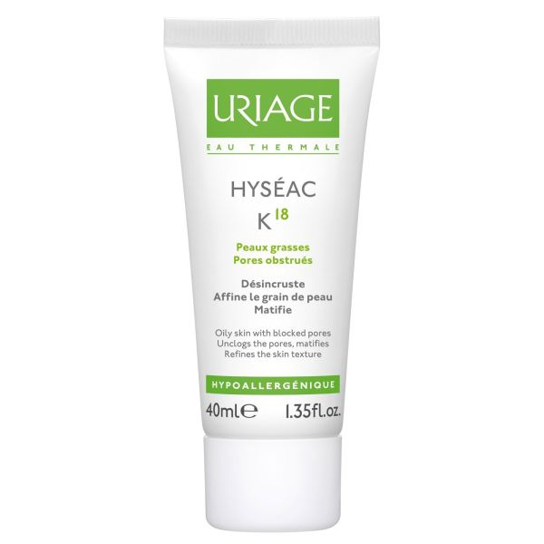 URIAGE HYSEAC K18 40ML