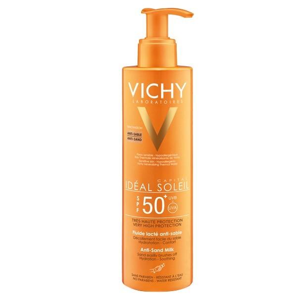 VICHY CAPITAL SOL IP50 LECHE FLUIDA ANTI-ARENA 200ML