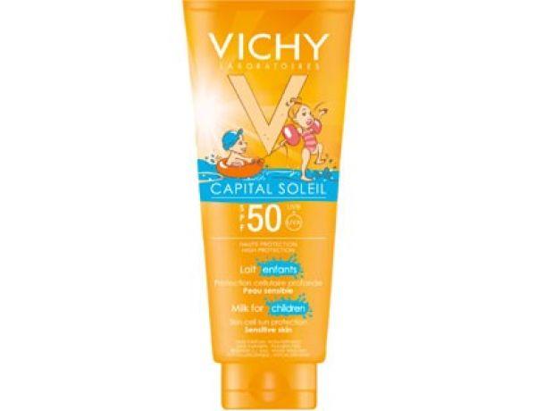 VICHY CAPITAL SOLEIL ENFANTS IP50 LECHE 300 ML
