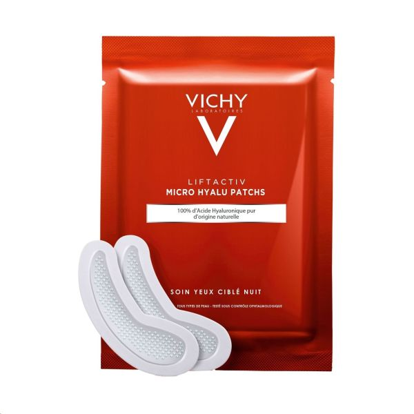VICHY LIFTACTIV MICRO HYALU PARCHES 2 UNIDADES