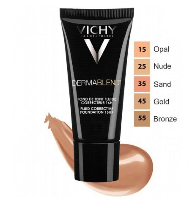 VICHY MAQUILLAJE DERMABLEND FLUIDO CORRECTOR N.55 30ML