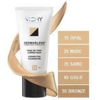 VICHY MAQUILLAJE DERMABLEND FLUIDO CORRECTOR N45 30ML