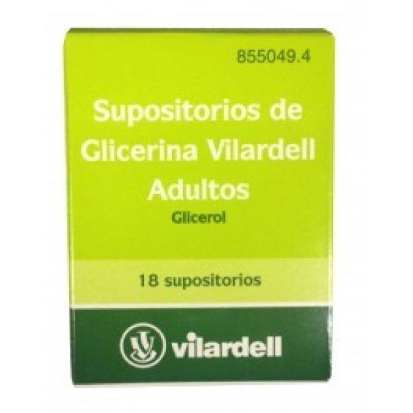 VILARDELL 18 SUPOSITORIOS ADULTOS