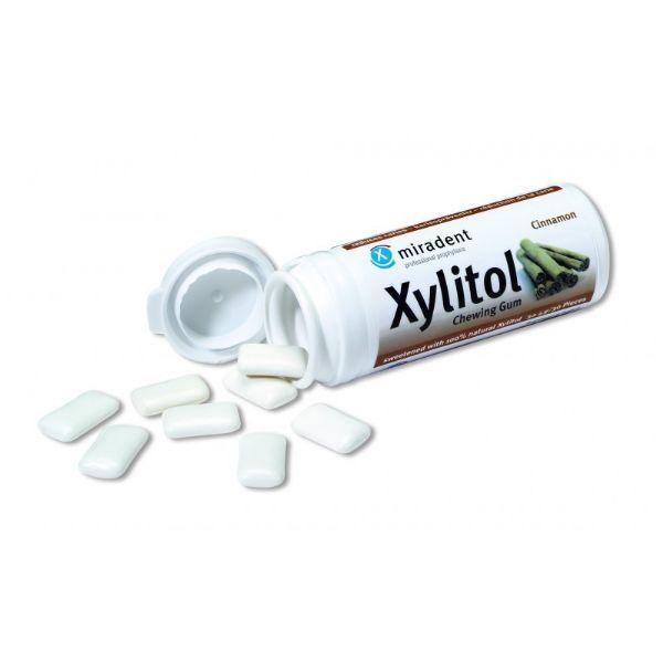 XYLITOL CHICLES CANELA 30 GRAGEAS