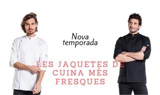 LES JAQUETES DE CUINA MÉS FRESQUES