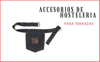 ACCESORIOS DE HOSTELERIA PARA TERRAZA